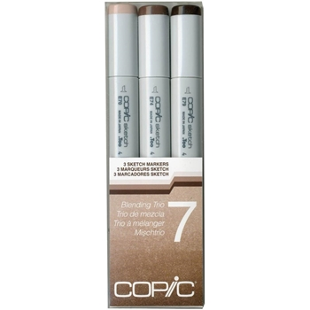 Copic Sketch Marker BLENDING TRIO 7 Set Seven 53515