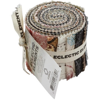 Tim Holtz Fabric Eclectic Elements 16760 DESIGN ROLL 13PC