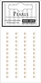 Hero Arts 48 Count PEARLS 3MM SMALL ch136