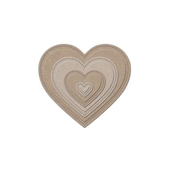Little B HEARTS Designer Cutting Die 100384