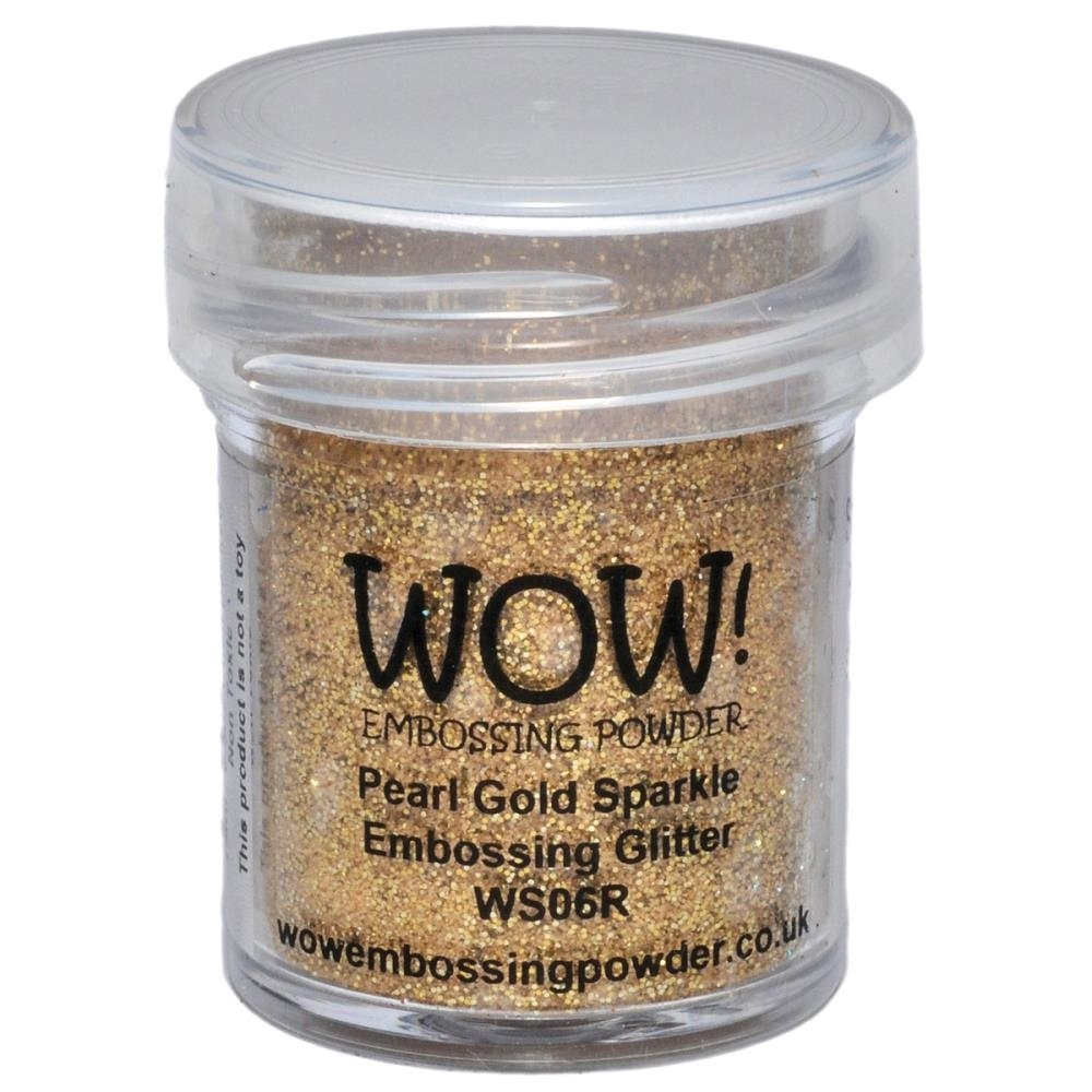 WOW Embossing Glitter PEARL GOLD SPARKLE REGULAR WS06R zoom image