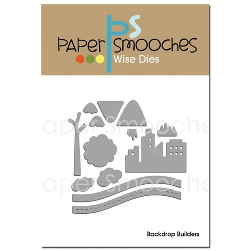Paper Smooches BACKDROP BUILDERS Wise Dies Preview Image