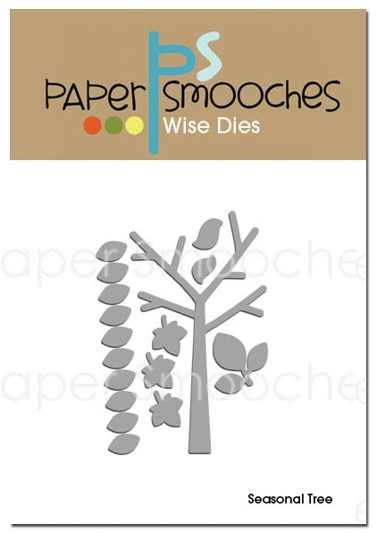 Paper Smooches SEASONAL TREE Wise Dies zoom image