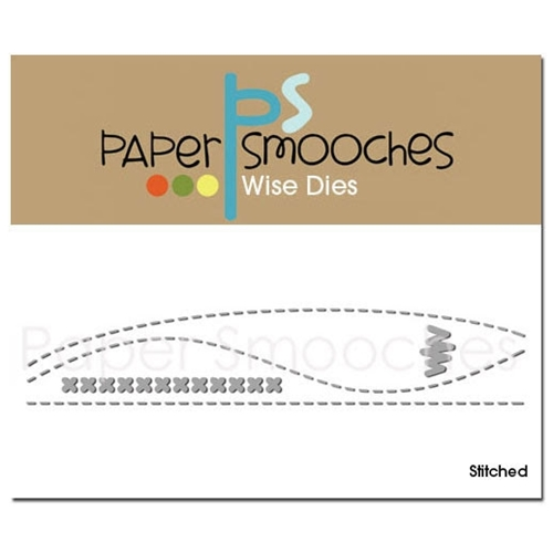 Paper Smooches STITCHED Wise Dies Preview Image