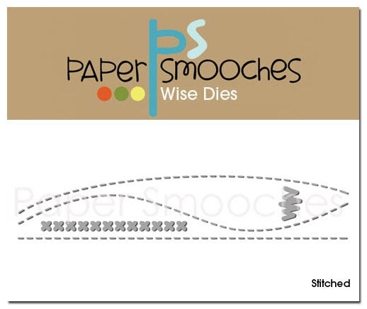 Paper Smooches STITCHED Wise Dies zoom image