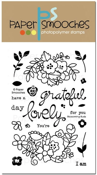 Paper Smooches BLOSSOMING BUDS Clear Stamps zoom image