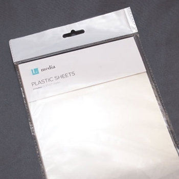 Lifestyle Crafts PLASTIC SHEETS Clear Media L-MEDIA-002
