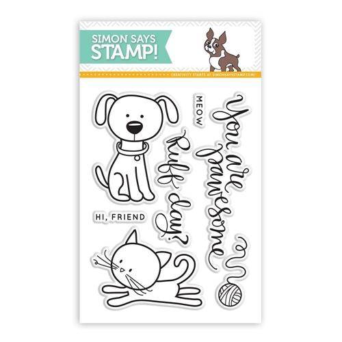 Simon Says Clear Stamps YOU ARE PAWESOME sss101423 This is the Life Preview Image
