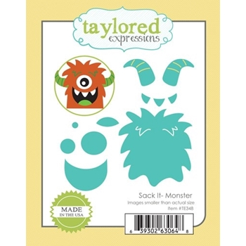 Taylored Expressions SACK IT - MONSTER Die Set TE348*