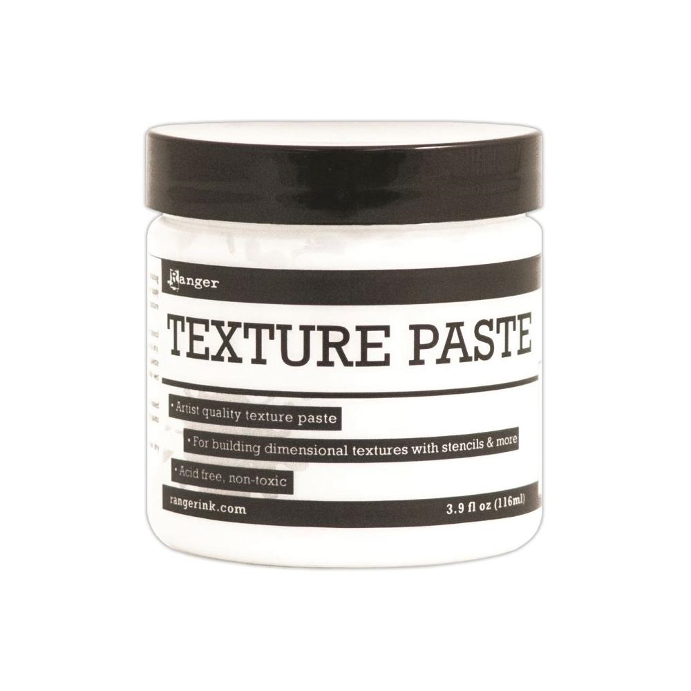 Ranger TEXTURE PASTE Opaque Matte 4oz INK44444 zoom image
