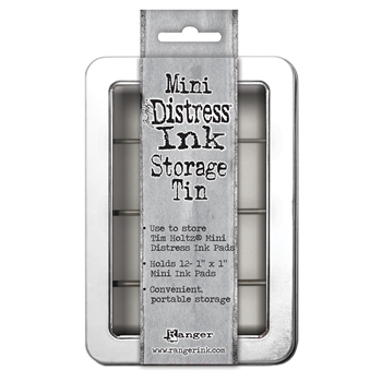Ranger Tim Holtz Mini Distress cube storage tin