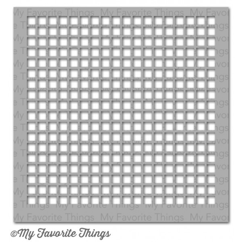 My Favorite Things GRID Mix-ables Stencil MFT Preview Image