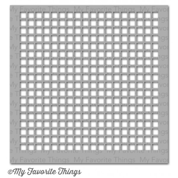 My Favorite Things GRID Mix-ables Stencil MFT zoom image