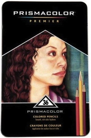 Prismacolor 36 Colored Pencils