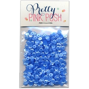 Pretty Pink Posh 4MM CORNFLOWER Cupped Sequins