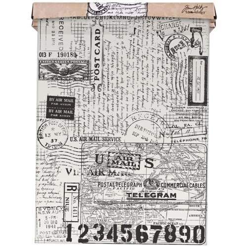 Tim Holtz Idea-ology POSTALE Tissue Wrap Paper TH93181 Preview Image