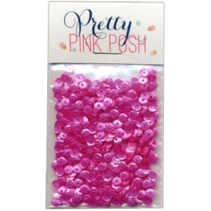 Pretty Pink Posh Orchid 4mm sequins