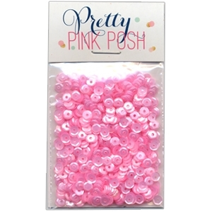Pretty Pink Posh Pink Blush 4mm sequins