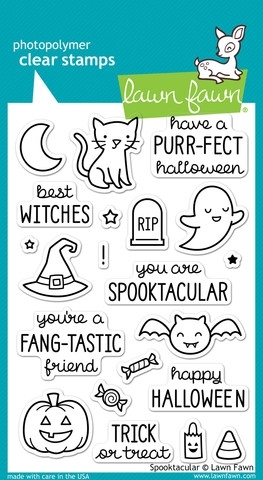 Lawn Fawn SPOOKTACULAR Clear Stamps LF698 zoom image
