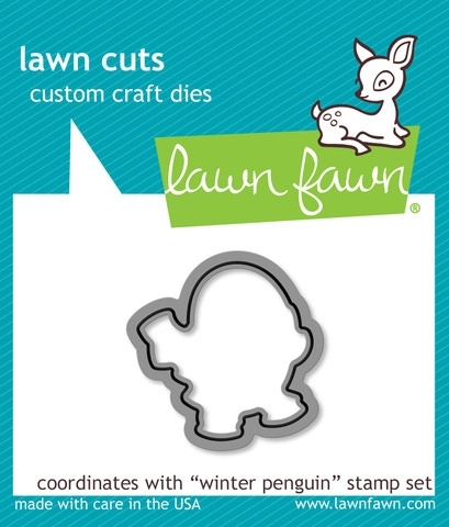 Lawn Fawn WINTER PENGUIN Lawn Cuts Dies LF728 Preview Image