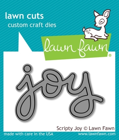 Lawn Fawn SCRIPTY JOY Lawn Cuts Die LF774 Preview Image