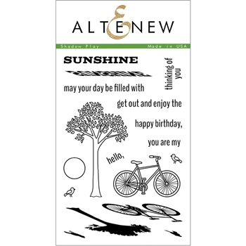 Altenew SHADOW PLAY Clear Stamp Set AN117