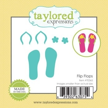 Taylored Expressions Little Bits FLIP FLOPS Dies TE365