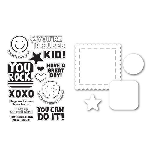 Simon Says Stamps And Dies KIDS ROCK SetKR113 Teacher's Pet* Preview Image