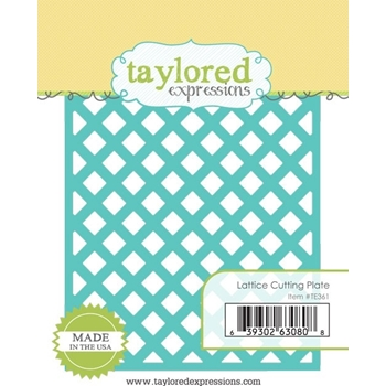 Taylored Expressions LATTICE Cutting Plate Die TE361
