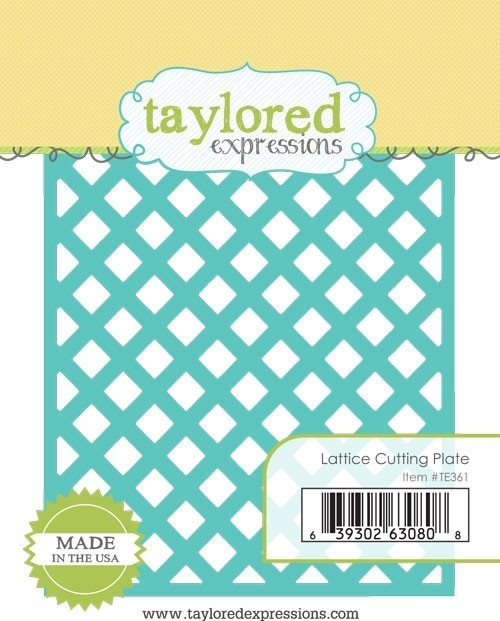 Taylored Expressions LATTICE Cutting Plate Die TE361 zoom image