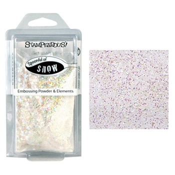 Stampendous SPOONFUL OF SNOW Embossing Powder and Elements EJS02*