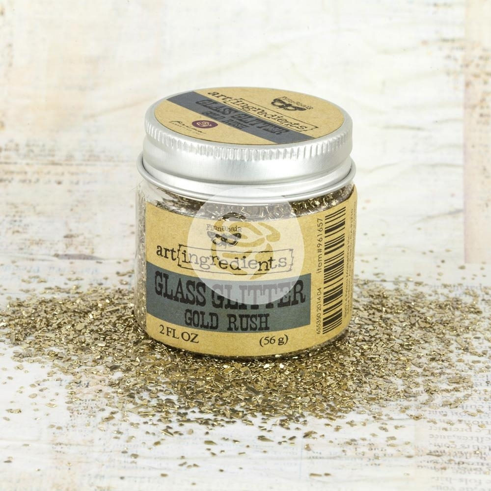 Prima Marketing GOLD RUSH Art Ingredients Glass Glitter 961657 zoom image