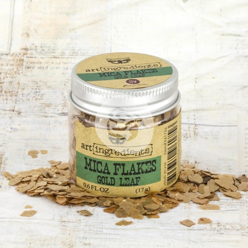 Prima Marketing GOLD LEAF Art Ingredients Mica Flakes 961756 Preview Image