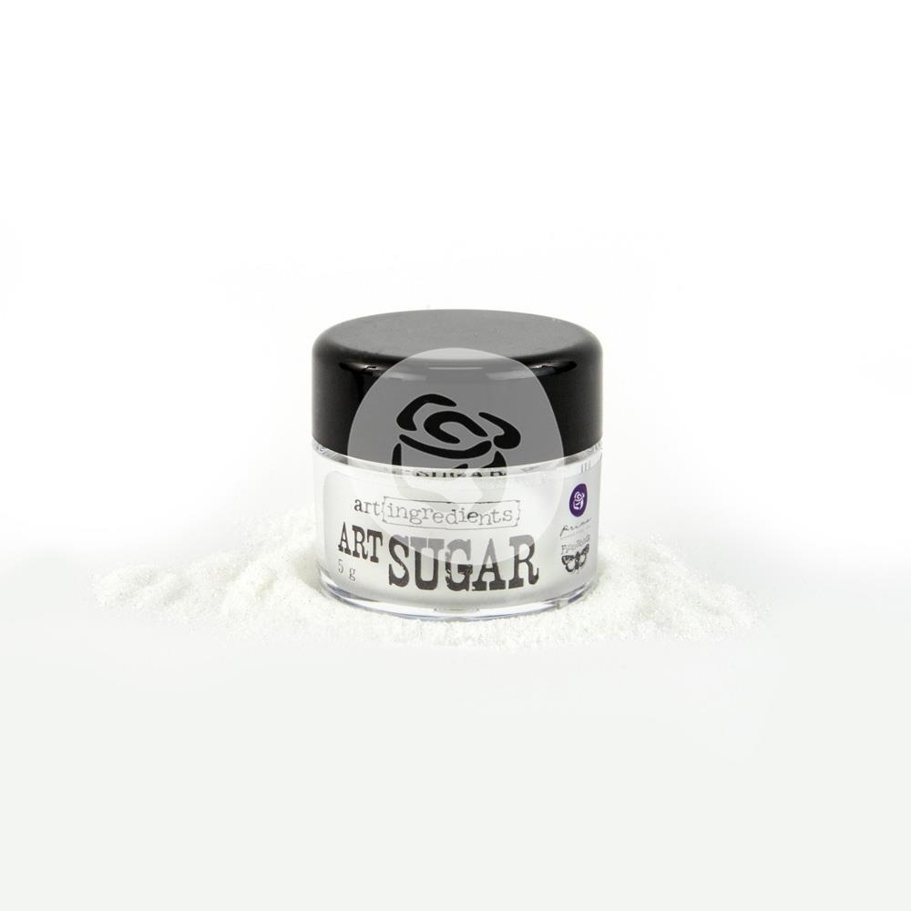 Prima Marketing WHITE Art Sugar Ultra Fine Glitter 961800 zoom image