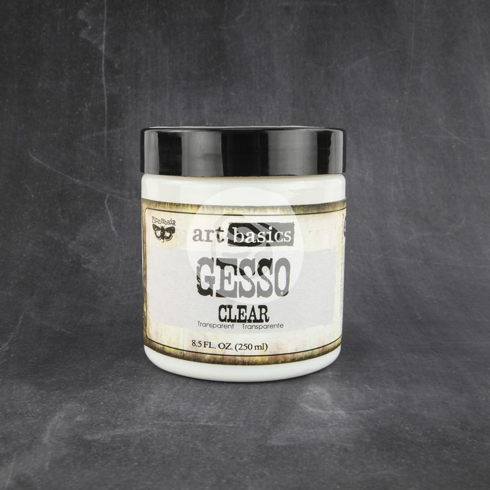 Prima Marketing CLEAR GESSO 8.5 OZ. Art Basics 961466 zoom image