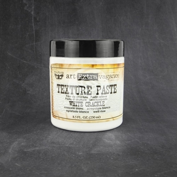 Prima Marketing WHITE CRACKLE TEXTURE PASTE Art Extravagance 961503