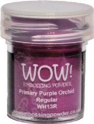WOW Embossing Powder PRIMARY PURPLE ORCHID REGULAR WH13R zoom image