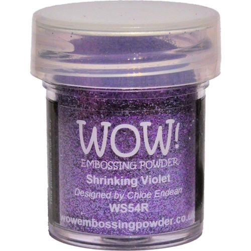 WOW Embossing Glitter SHRINKING VIOLET WS54R Preview Image