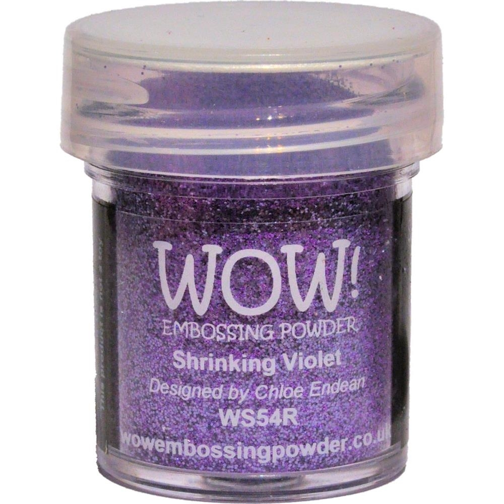 WOW Embossing Glitter SHRINKING VIOLET WS54R zoom image