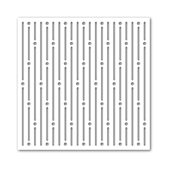 Simon Says Stamp Stencil DOTS AND LINES ssst121365 *