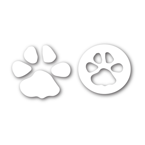 Simon's Exclusive Paw Print Die Set