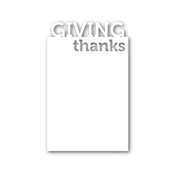 Simon Says Stamp GIVING THANKS Craft Dies sssd111392 *