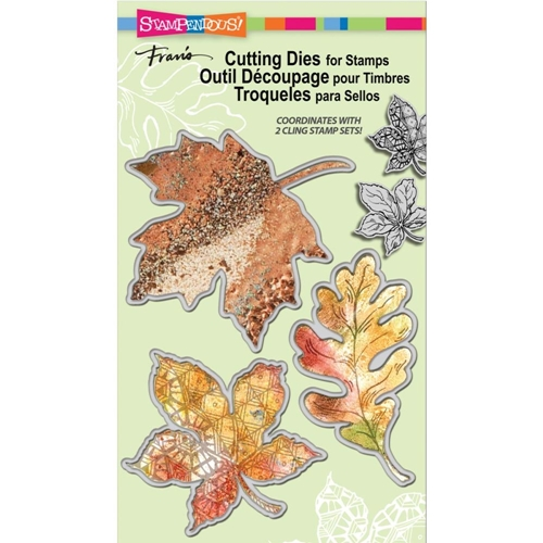 Stampendous LEAF DIE CUT SET DCS5068 Preview Image
