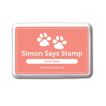 Simon Says Stamp Premium Dye Ink Pad CORAL REEF Peach Ink027