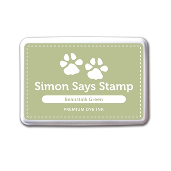 Simon Says Stamp Premium Dye Ink Pad BEANSTALK GREEN Ink028