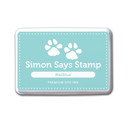 Simon Says Stamp Premium Dye Ink MALIBLUE Ink030 Preview Image