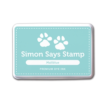 Simon Says Stamp Premium Dye Ink MALIBLUE Ink030