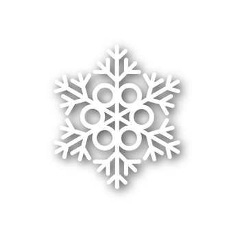 Simon Says Stamp MELODY SNOWFLAKE Craft Die sssd111387