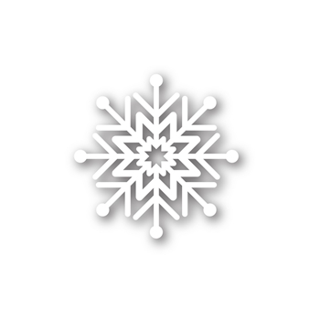 Simon Says Stamp ABBY SNOWFLAKE Craft Die sssd111388