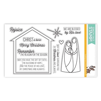 Simon Says Clear Stamps NATIVITY sss101437
